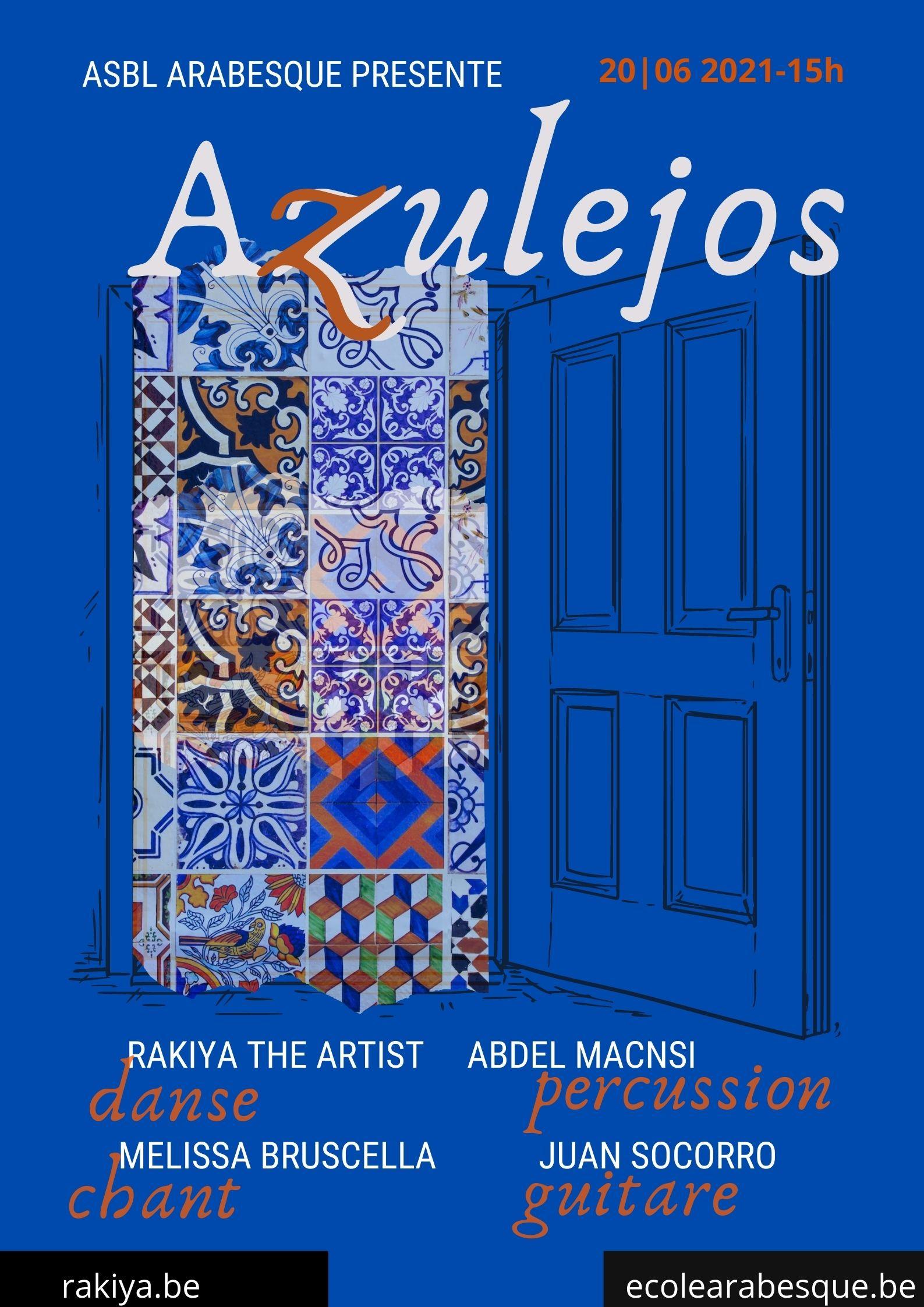 Azulejos es la última creación de chprégraphe Rakiya The Artist, reunió a 4 artistas de diferentes orígenes